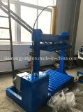 Máquina de empacotamento da pressão hidráulica para os sacos tecidos PP Sj-Ydb12X8