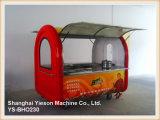 Ys-Bho230  De multifunctionele Mobiele Kiosk van het Voedsel van de Straat van de Kar van de Hotdog