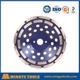 Roue de cuvette de diamant pour les pierres de meulage/granit/marbre