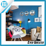 PVC autoadhesivo 3D DIY decorativo etiqueta removible para la pared