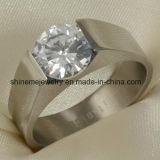 De Juwelen van de Ring van het Titanium van de Besnoeiing van de Draad van de Manier van de Juwelen van Shineme (TR1837)