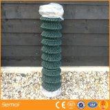 Rete fissa Chain rivestita di collegamento Chain della rete fissa della maglia del PVC (rete metallica del diamante)