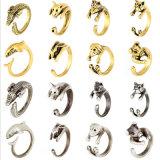 Бронза/серебр дельфина змейки обруча кольца легирующего металла цинка животные