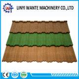 Einfacher Aufbau-bunter Stein-überzogene MetallNosen Dach-Fliese