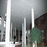 Plafond acoustique en aluminium de plafond perforé de tuile de plafond d'absorption saine pour la salle de réunion Using le prix usine