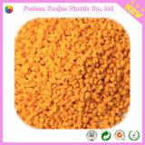 Masterbatch amarillo para la materia prima plástica