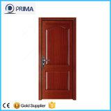 Porte en bois de porte intérieure moderne en bois solide