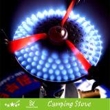 Bruciatore a gas portatile con la superficie di ceramica del bruciatore fatta in Cina