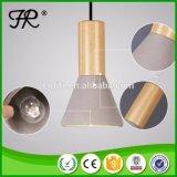 Lámpara pendiente moderna de la venta caliente con la lámpara de Edison