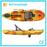 Kayak de pêche maritime de pédale de pied de Rotomolded avec les inhibiteurs UV