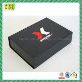 Boîte cadeau rigide en papier avec couvercle magnétique