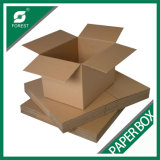 Caja de embalaje de cartón ondulado de tamaño personalizado