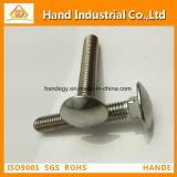 La alta calidad DIN 603 la mitad de la rosca del tornillo de cuello cuadrado