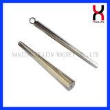 Imán Rod/barra/palillo del neodimio con el gancho de leva/el anillo