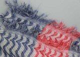 Sciarpa libera 100% di modo dell'azo del cotone per lo scialle dell'accessorio di modo delle donne