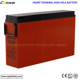 Batterie d'acide de plomb terminale avant du constructeur Ft12-170/175ah pour le système d'alimentation