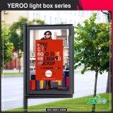 Постоянный прокрутки Lightbox-Advertising блок освещения - Вращающиеся Mupis-Light окно отображения