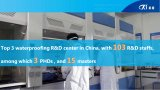 Qifeng HDPE 방수 막 건물 Materi 힘 코팅