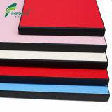El panel fenólico del laminado HPL del compacto del color de madera lateral doble