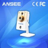 Appareil-photo à la maison sec d'IP de cube avec le détecteur de mouvement de PIR pour des systèmes de sécurité