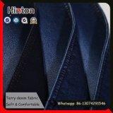 На заводе растянуть джинсовой ткани 8 унции Терри Жан ткани для женщин
