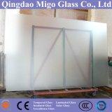 Кислота вытравила стекло стекла мебели замороженного стекла/ливня