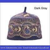 Moslemischer Hut gesetzter Hijab Hut durch Wolle-Filz-Material Embrodierypattern