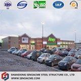 Модульная конструкция многофункциональных сегменте панельного домостроения в стальной каркас здания рынка
