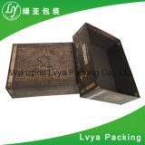 Caixa de papel de empacotamento impressa feita sob encomenda barata por atacado de cor cheia