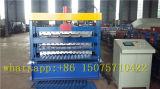 Três camadas a folha de revestimentos betumados máquina de formação de rolos de aço Ibr