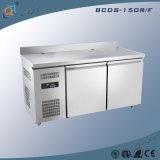 Tipo refrigerador do gabinete do aço inoxidável do congelador do refrigerador