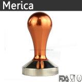 Compressore dorato del caffè della maniglia dell'acciaio inossidabile 304