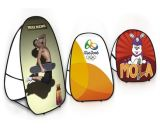 Banner d'affichage portable Easy Up Advertising Pop up Banner