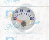 """2 """"52mm 50-150 Calibre de température de l'eau de lumière blanche"""
