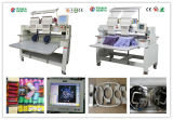 2 Kopf-industrielle Stickerei-Maschine, Schutzkappen-Stickerei-Maschine, T-Shirt und flacher Stickerei-Maschinetajima-Entwurfs-China-Preis