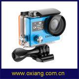 Realmente la última cámara deporte resistente al agua 4k H8r pro de la cámara de vídeo inalámbrica de 360vr Ambarella A12 Imx078 WiFi cámara de acción ver