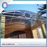 policarbonato Lexan di plastica di 6mm che riveste lo strato gemellare vuoto di Sun del policarbonato della parete
