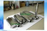 silenziatori automatici di punta dello scarico dell'automobile del centro 3 ''/centro 3 '' di pollice 5X8X18X24 con acciaio inossidabile 409