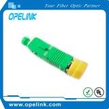 Adaptador de fibra óptica Simplex Sm para cabo de fibra óptica
