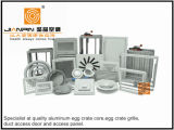 Fixe/Âme amovible HVAC Logement de calandre à barres linéaires diffuseur pour Accessoire de ventilation