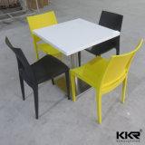 Таблица 0713 изготовленный на заказ мебели размера искусственной каменной обедая