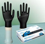 Медицинский порошок перчаток нитрила Dispsoable применения освобождает