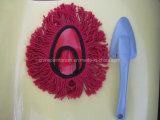Cepillo de la cuerda de rosca del algodón con la maneta plástica