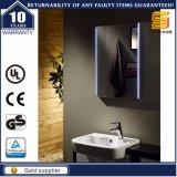 装飾的な着服LED銀製アルミニウムミラー、浴室の軽いミラー