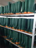 Ботинки техники безопасности на производстве мягкого единственного стального фундамента пальца ноги резиновый