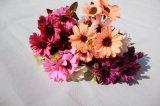 Silk künstliches Gänseblümchen blüht gefälschte Blumen für Hauptdekoration-Zubehör