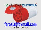 Economische Industriële Schakelaar met 5p 6h IP67 16A Cee/IEC PP/PA