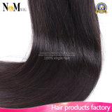 最も普及したブラジルの人間のバージンのRemyの毛のまっすぐな波の自然な直毛
