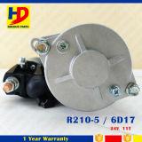 R210-5 6D17のための24V 11tのエンジン始動器モーター