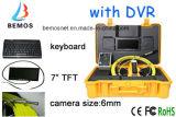 Abwasserrohr-Inspektion-Kamera mit kleinerer Größen-Kamera 6 mm